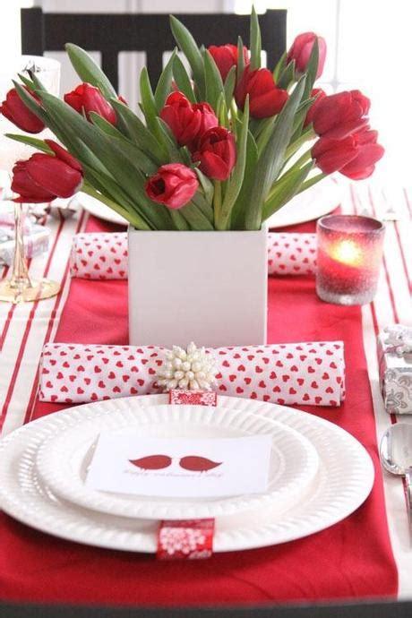 d 233 coration de la table pour la st valentin