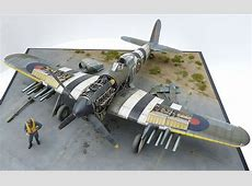 Hawker Typhoon MkIb AIRFIX 124 scale By Mike Garamond
