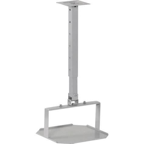 support plafond pour projecteur 2042583 inclinable argent mat sur le site conrad 350447