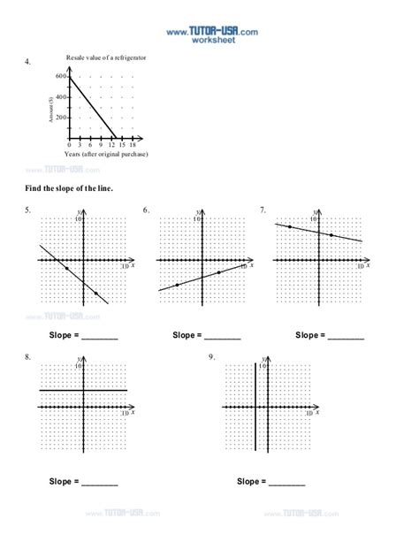 Slope Equation Worksheets  1000 Images About Slope On Pinterest Worksheets Equation And Lesson