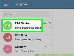 How to Get a Group Link on Telegram on PC or Mac: 5 Steps