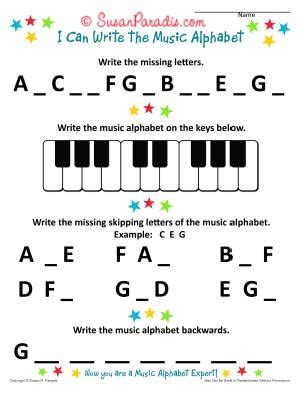 Piano Worksheets For Young Beginners Worksheets For All