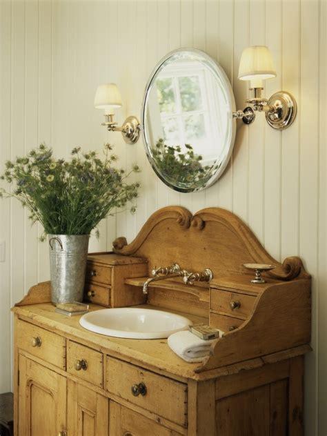 Simple Details: dresser as bathroom vanity