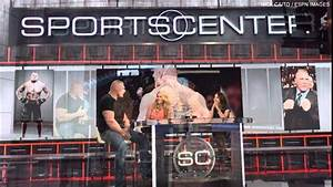 WWE Superstar Brock Lesnar Journey To Espn Sportscenter ...