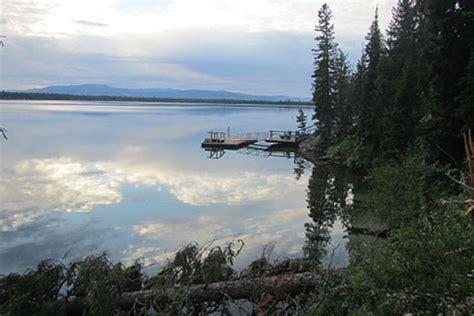 East Boat Dock Jenny Lake by Jenny Lake Trail Page 2 Grand Teton National Park
