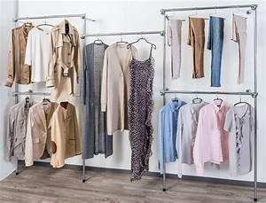 Kleiderstange An Wand : becker ladenbauzubeh r ~ Markanthonyermac.com Haus und Dekorationen
