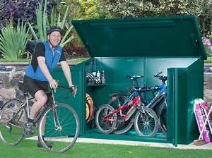 Bike Storage for 4 bikes | Approved metal bike sheds from ...