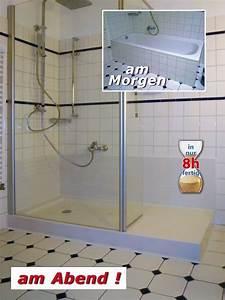 Umbau Wanne Zur Dusche : duschoase umbau von der badewanne zur dusche renobad 02774 6314 ~ Markanthonyermac.com Haus und Dekorationen