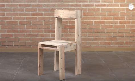 tutoriel fabrication d une chaise avec des palettes