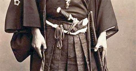 Actual Samurai Photographed In The 1860's During The Last
