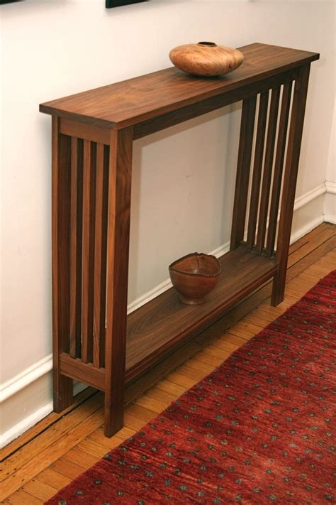 Hand Made Walnut Hall Table By Fredric Blum Design. Florida Eportal Help Desk. Physicians Desk Reference Book. Ideal Desk Height. Therapy Tables. Drawer Slider. Writing Tables. Recaro Desk Chair. Rustic Drawer Pulls And Knobs