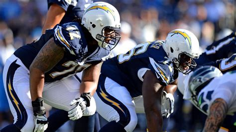 First Look At San Diego Chargers' 2016 Free Agents