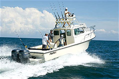 Parker Boats 25 Review by Parker 2820 Xl Sport Cabin Sea Trial Boats
