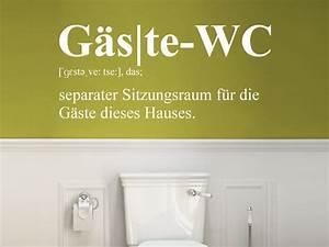 Wandtattoo Wc Sprüche : wandtattoo g ste wc separater sitzungsraum bei ~ Markanthonyermac.com Haus und Dekorationen
