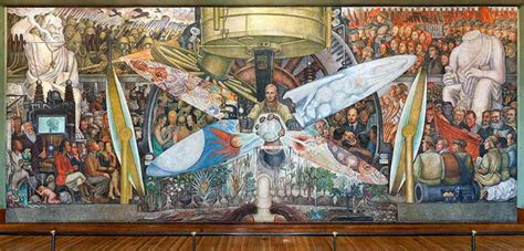 destroyed by rockefellers diego rivera mural trespassed on political vision npr