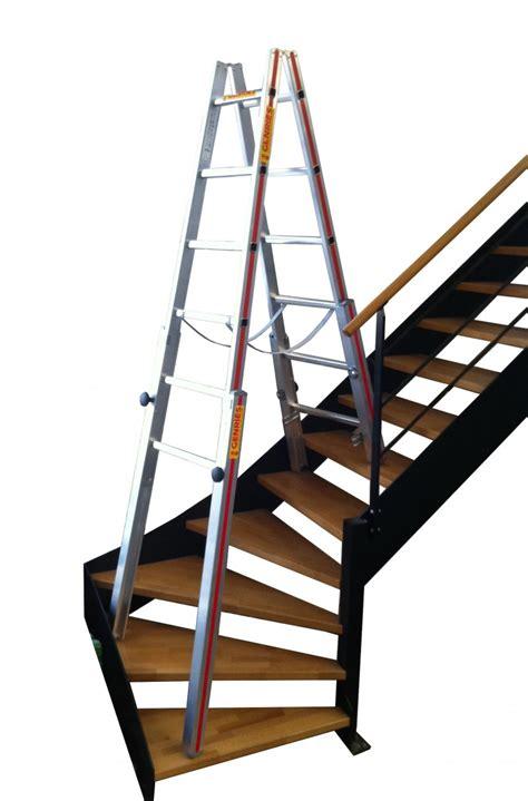 location echelles doubles specifiques pour escaliers 4