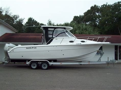 Used Sea Fox Boats For Sale In Texas by Used Walkaround Sea Fox Boats For Sale Boats