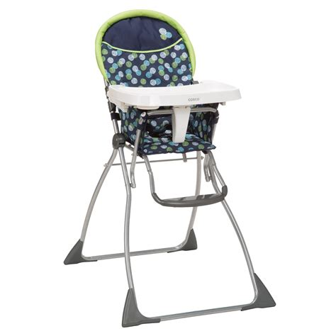cosco folding highchair metro dot baby baby feeding high chairs boosters