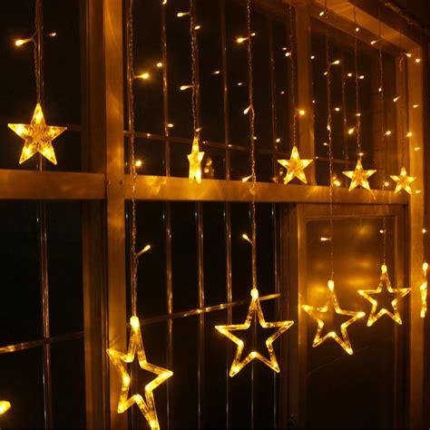 2017 white yellow blue led lights the lantern mall window decoration bar wedding