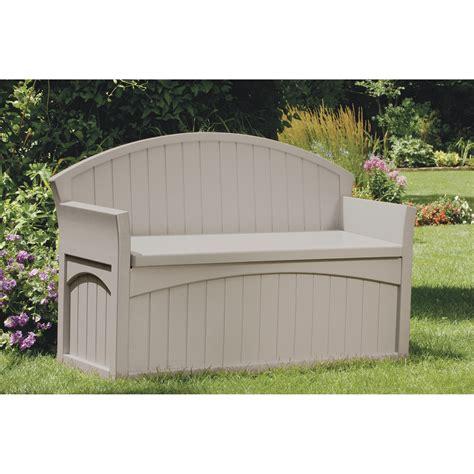 Suncast Patio Storage Seat by Suncast Outdoor Patio Bench With Storage Model Pb6700