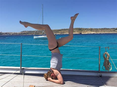 Yacht Yoga by Yoga And Sailing The Best Of Two Worlds Intersailclub Blog