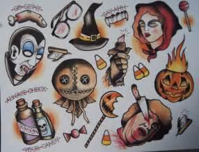 Best 25+ Halloween Tattoo Flash Ideas Only On Pinterest