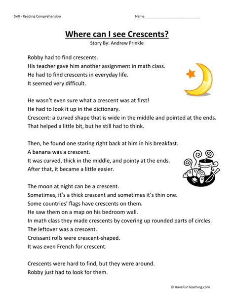 19 Best Images Of Second Grade Literature Comprehension Worksheets  3rd Grade Reading