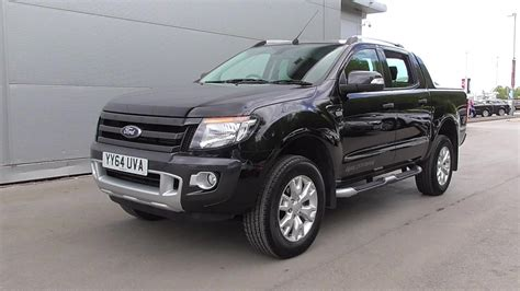 ford ranger wildtrak automatic cab up