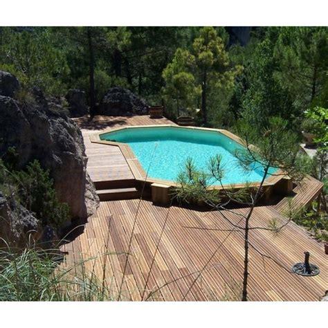 la piscine en bois semi enterr 233 e