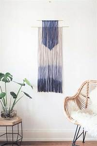 Dip Dye Selber Machen : diy wanddeko selber machen dip dye wall hanging paulsvera ~ Markanthonyermac.com Haus und Dekorationen