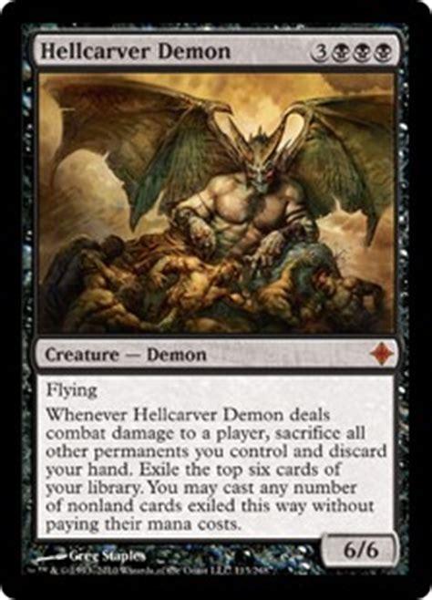 hellcarver rise of the eldrazi gatherer magic the gathering