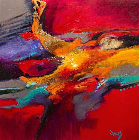 peinture abstraite moderne huile sur toile mont 233 e sur ch 226 ssis format carr 233 deux dimensions