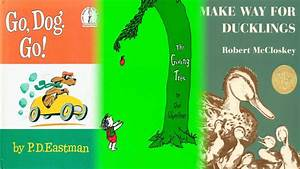 Top 10 Illustrated Children's Books - YouTube