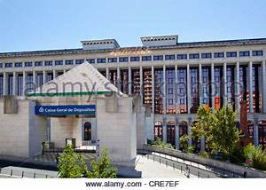Headquarters of the largest Portuguese bank CGD, Caixa ...