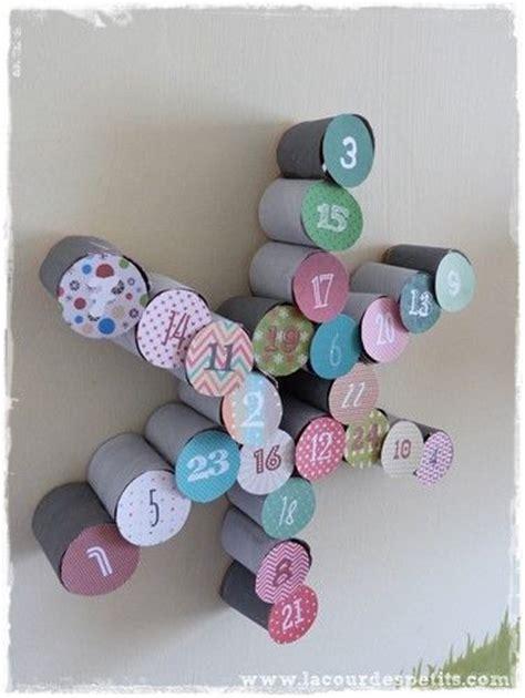 bricolage en rouleaux de papier toilette 5 un calendrier de l avent bricolage