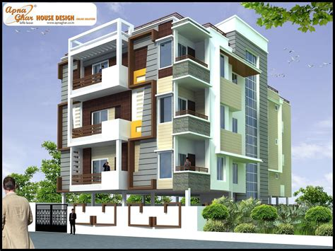 3 Floor Home Design : Complete Architectural Solution