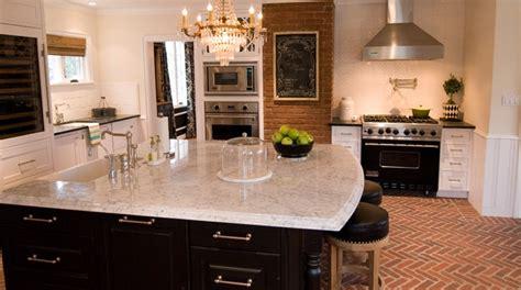 brick floor kitchen transitional kitchen vallone design