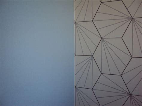 coupon papier peint 52cmx20cm motifs g 233 om 233 trique inspiration scandinave blanc noir d 233 coration