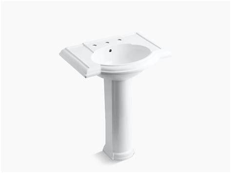 devonshire pedestal sink with 8 inch centers k 2294 8