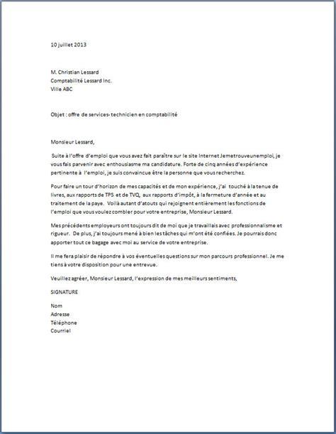 lettre de motivation comptable lettre de motivation 2017