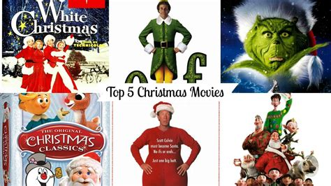 Top 5 Christmas Movies  Vlogmas Day 17 Youtube