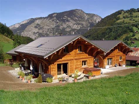 les chalets claudet constructeur de maisons et chalets bois