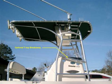 Tee Tops For Center Console Boats by Boat T Tops