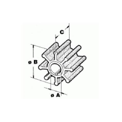 Buitenboordmotor Impeller by Impeller Mariner Buitenboord Motor