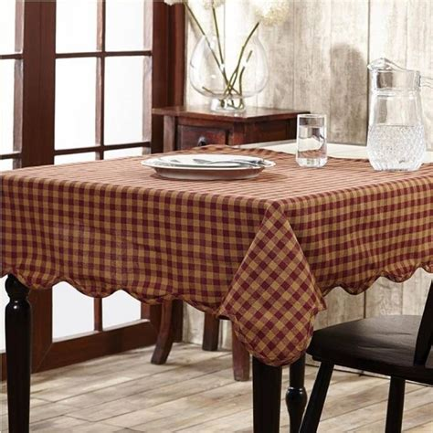 Country Primitive Rectangular Table Cloths Page 2