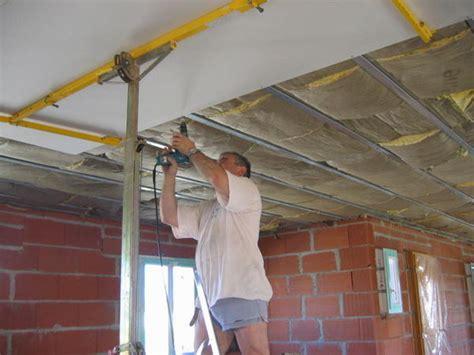 schema pose placo plafond