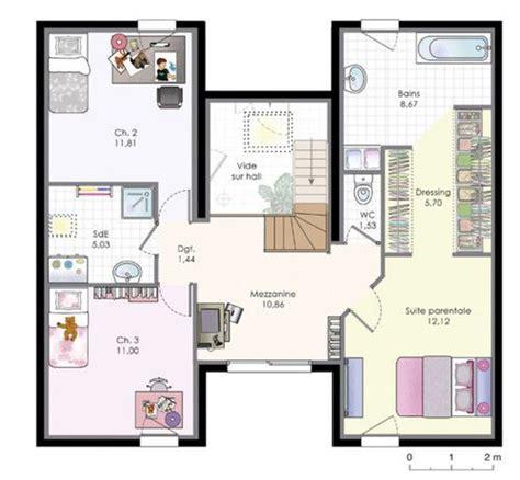 les 25 meilleures id 233 es de la cat 233 gorie plan maison etage sur plan de maison ouvert