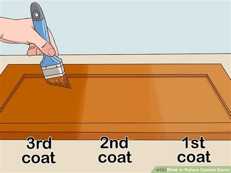 How To Reface Cabinet Doors (with Pictures) Wikihow
