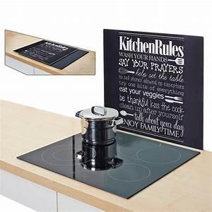 Spritzschutz Herd Glas : herdblende spritzschutz kitchen rules kaufen otto ~ Markanthonyermac.com Haus und Dekorationen