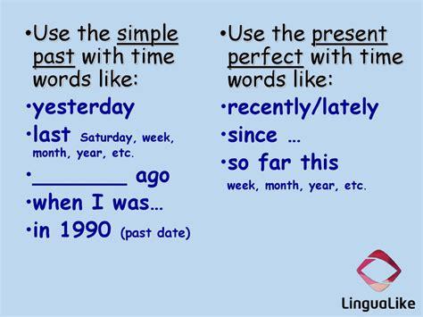 Simple Past Vs Present Perfect (lesson 3)  Online Presentation